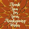 Keep Calm Give Thanks.Thank You Wishes.