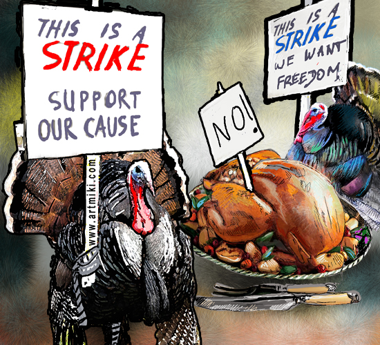 Thanksgiving Strike.