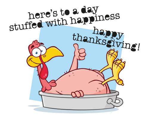 Stuffed Thanksgiving Day Free Turkey Fun Ecards Greeting Cards 123 Greetings