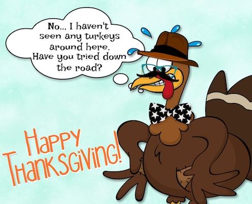 A Thanksgiving Deception.