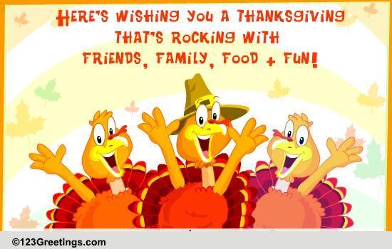 thanksgiving turkey fun cards, free thanksgiving turkey fun ecards, Greeting card