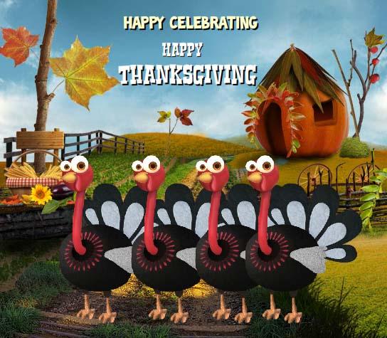 Turkey Dance For Thanksgiving. Free Turkey Fun eCards ...