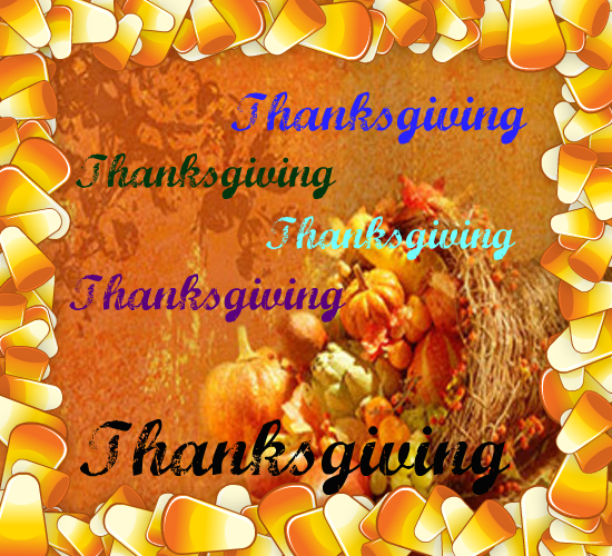 Wishing You A Thanksgiving With Love.