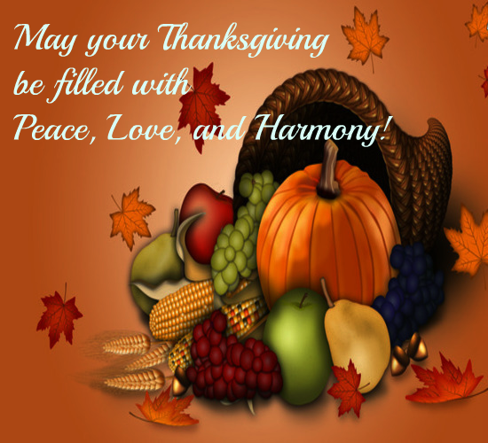 Have A Thanksgiving Filled With Love.
