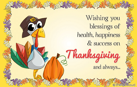 Blessings Of Thanksgiving Day...