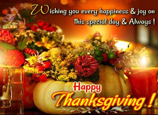 Happy Thanksgiving Cards Free Happy Thanksgiving Wishes