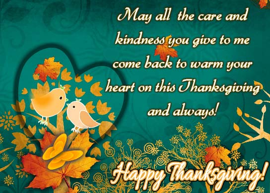 sending thanks to warm your heart  free happy thanksgiving