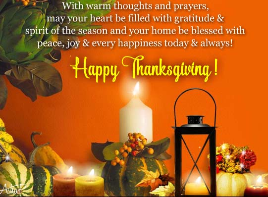 thanksgiving thoughts  u0026 prayers  free happy thanksgiving