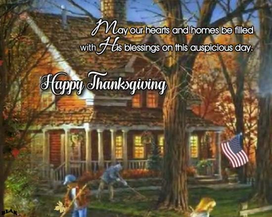 Send Thanksgiving Greetings!