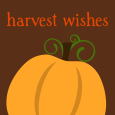 Pumpkin Kisses & Harvest Wishes.