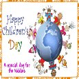 Home : Events : Universal Children's Day 2019 [Nov 20] - A Happy Children's Day Card.