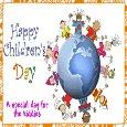 A Happy Children's Day Card.