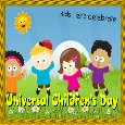 Home : Events : Universal Children's Day 2019 [Nov 20] - Kids... Let's Celebrate Universal...