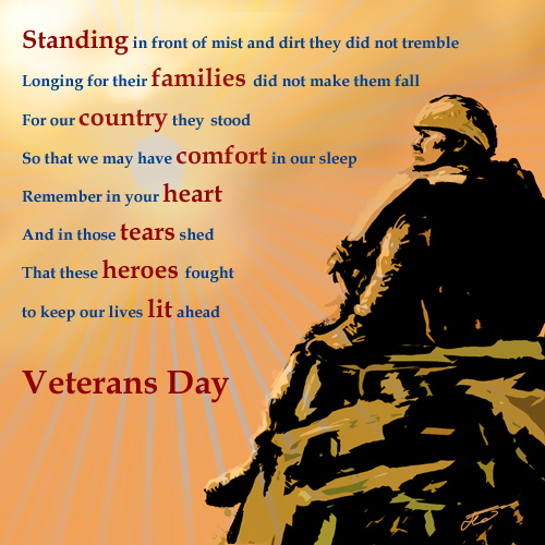 Veterans Day Poem.