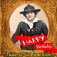 Juliette Gordon Low's Birthday.