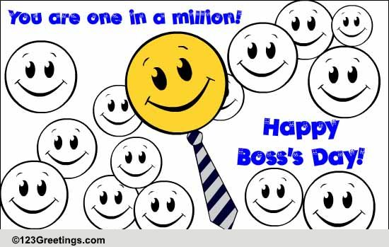A Boss's Day Thanks. Free Thank You eCards, Greeting Cards ...