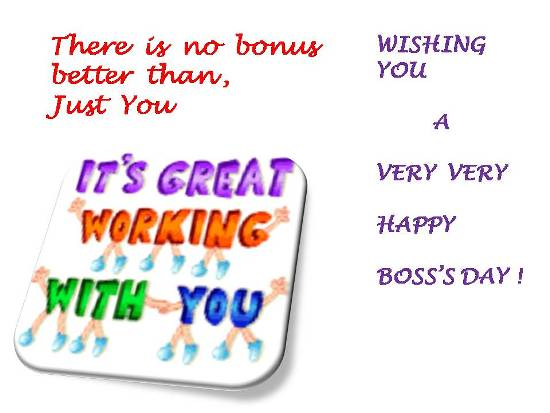 Wish Your Boss And Make His Day.