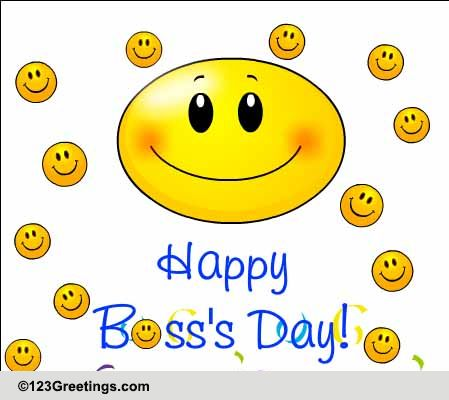 Bosses Cards Printable Boss's Day Cards Free Boss's