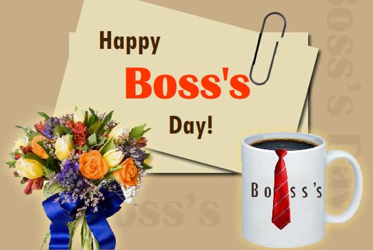 Send Boss's Day Greetings!