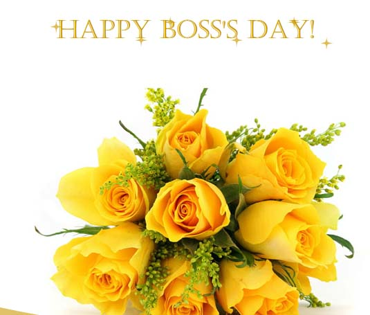 Warm Wishes For Your Boss... Free Happy Boss's Day ECards