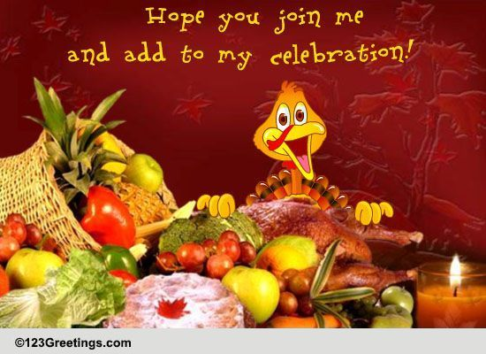 delicious thanksgiving feast free invitations ecards