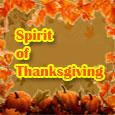 Spirit Of Thanksgiving Brings...