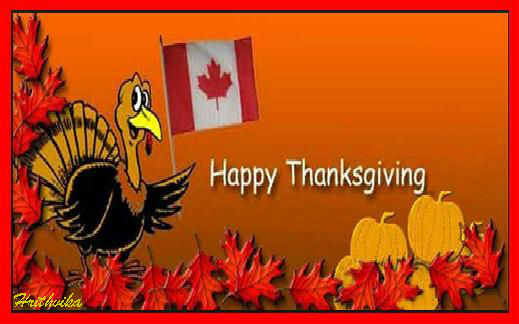 Wishes On Canadian Thanksgiving...