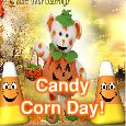 Candy Corn Day Sweet Treat!