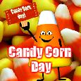 Sweet Treat On Candy Corn Day!