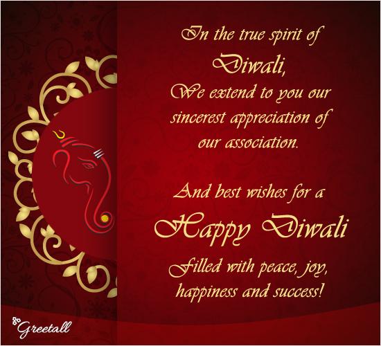 In The True Spirit Of Diwali!