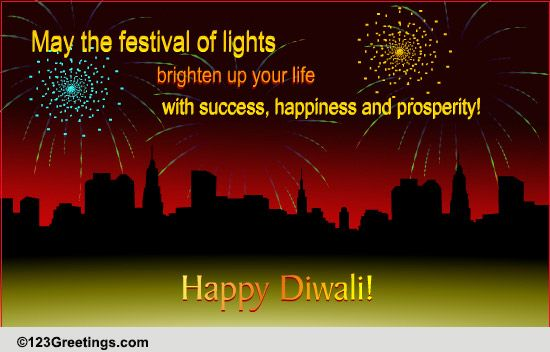 a corporate diwali wish  free business greetings ecards