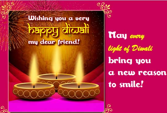 Diwali Wishes For A Dear Friend Free Friends Ecards