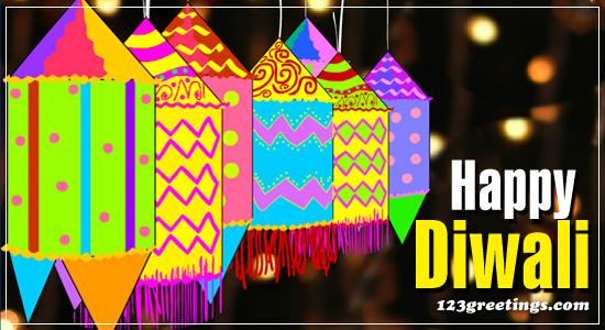 Colorful Diwali Image...