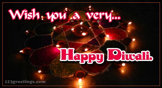 Wish You A Very Happy Diwali.