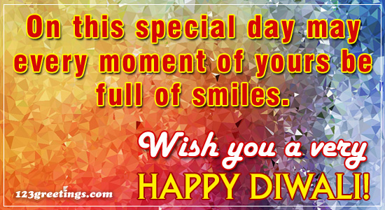 Special Diwali Message For You!