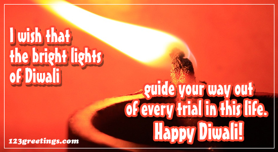 Bright Lights Of Diwali...