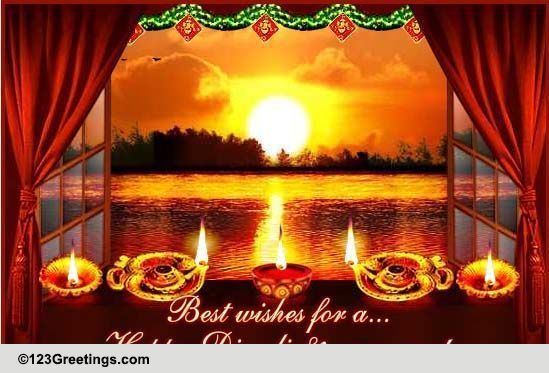 beautiful diwali new year wish free hindu new year ecards 123 greetings