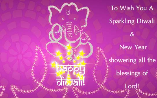 Sparkling Hindu New Year Free Hindu New Year Ecards