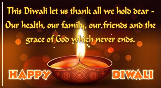 Wishing A Happy Diwali!