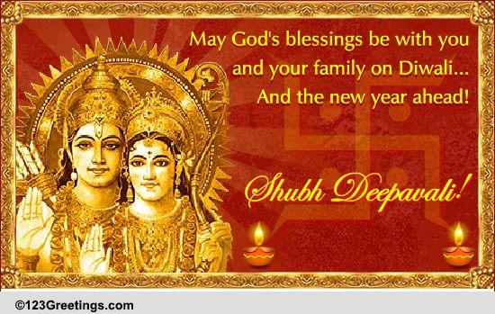 religious diwali wish  free religious blessings ecards