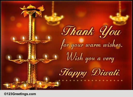 special diwali thanks  free thank you ecards  greeting