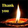 Glowing Thank You Wishes.