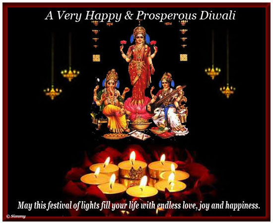 Happy & Prosperous Diwali.