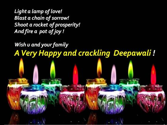 Wish A Crackling And Joyful Deepawali/