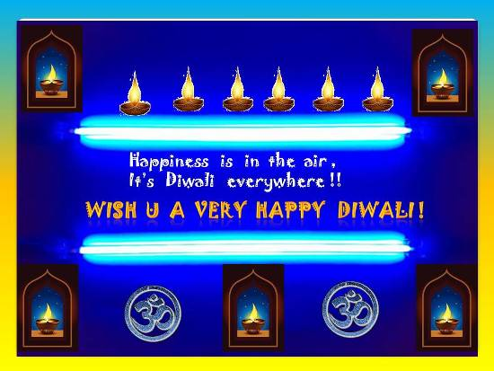 Greetings And Good Wishes For Diwalii.