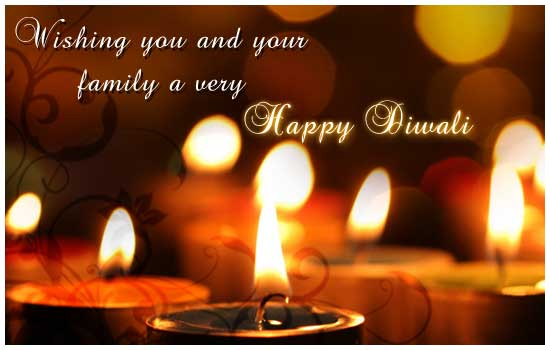 Wishing Happy Diwali.