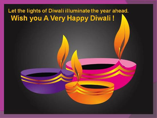 Diwali Wishes For Dear Ones.