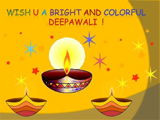 Joyful Greetings On Deepawali.