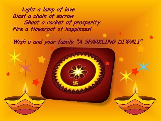Greetings For Diwali.