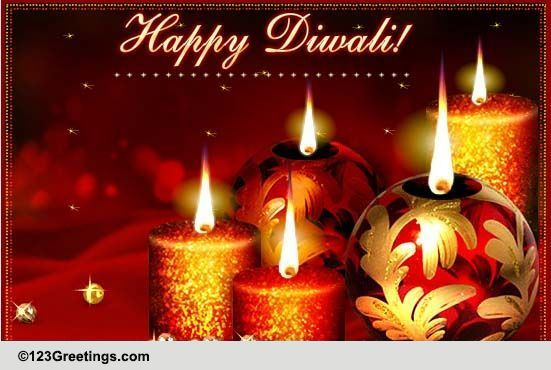 Diwali Candles Free Happy Diwali Wishes Ecards Greeting
